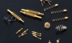 Specially shaped springs